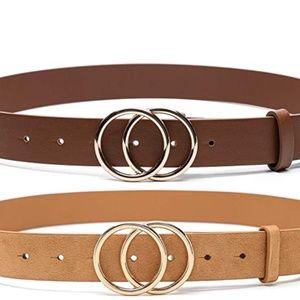 Faux Leather Belts
